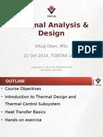 ISNET Thermal Design