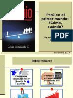 Exposicion - Peru 2021 en El Primer Mundo