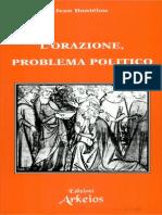 Jean Daniélou-L'orazione, problema politico-Arkeios (1993)