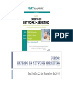 3 Sesión Curso Experto en Network Marketing