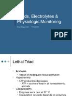 Fluids Electrolytes