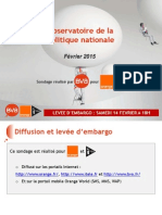 Baromètre BVA - Orange - I-télé - Observatoire de la politique nationale