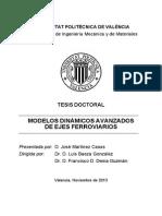 Martínez - Modelos Dinámicos Avanzados de Ejes Ferroviarios.