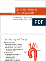 Aneurysms & Aortic Dissection