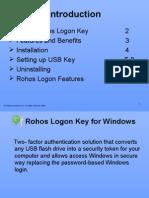 Rohos Logon Key - Windows secure login