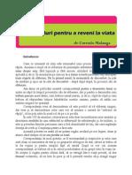 105 Emailuri Pentru a Reveni La Viata -Corrado Malanga