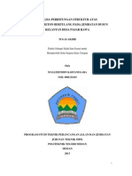 Analisa Perhitungan Struktur Atas Jembatan Beton Bertulang Pada Jembatan Dusun Kelantan Desa Pasar Rawa (03-TPJJ-TA-2013)