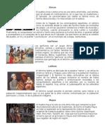 Las cuatro culturas predominantes en Guatemala