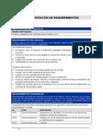 Requerimiento de Documentos Proyecto