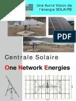 Concept Centrale Solaire