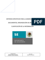 Criterios Documentos
