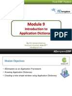 09 Application Dictionary