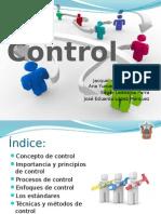 Control como parte del proceso administrativo