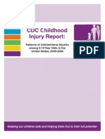 CDC Childhood Injury Report: