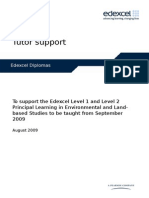 Diploma PL Environmental Land Based Studies L1-2 TSM (Phase 3)