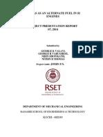 Project Presentation Report