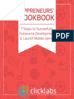 7 Steps Successfully Outsource Launch Mobile Games eBook