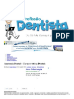 Anatomia Dental – Características Dentais _ Profissão Dentista