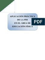 Aplicacion de La Pdi Al Area de Ef