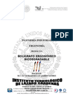 Boligrafo Ergonomico Biodegradable