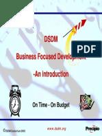 DSDM_Introduktion