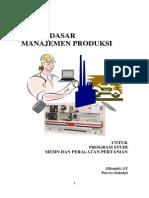Modul Manajemen Produksi