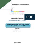 Rappport TP Projet Groupe EmpoiTemps Fin