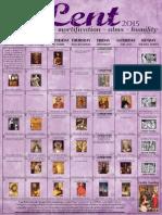 2015 Lenten Calendar - Purple