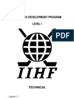 Iihf Coach Development Program Level i