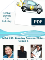 Global Electric Car Industry