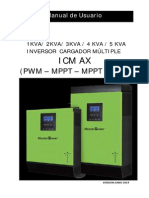 Manual Inversor MasterPower Omega Pwm Mppt