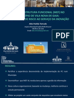 Macroestrutura Funcional - Municipio Vila Nova Gaia