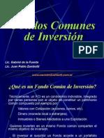 Adm. Financiera - Fondo Comun de Inversion