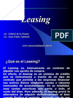 Adm. Financiera - Leasing