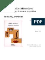 Richard Bernstein, Ensayos filosoficos, capítulo 3