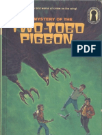 37 The Three Investigators and the Mystery of the Two-Toed Pigeon