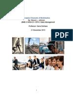 Complex Channels of Distribution - Term Project Final 21-DeC-2012