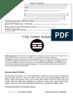 The Three Gunas