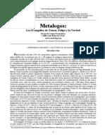 Metalogos - Evangelios de Tomas, Felipe y La Verdad