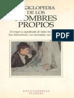 Enciclopedia de Los Nombres Propios - 1995