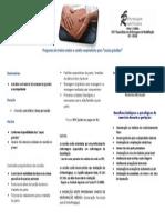 """Programa de Treino Motor e Cardio-respiratório Para """"Casais Grávidos"""""""