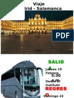 Presentacion Viaje Salamanca