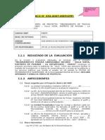 Evaluación Perfil Mantaro - Buena Vista