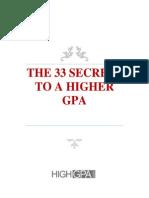 Higher GPA