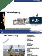 Steinbacher-Consult, Equipment Vermessung