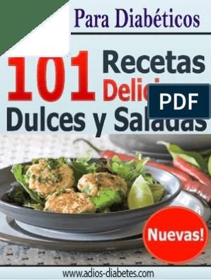 libro de cocina diabetes dietas delicias