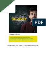 Goffredo Parise - Sillabari. Audiolibro letto da Nanni Moretti