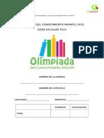 Olimpiada  del conocimiento 2015