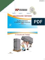 OYM UD2 Sem06 - Medición Del Trabajo y Std de Tiempo