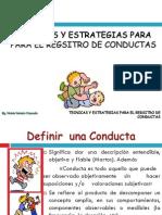 Diapositivas Registro de Conductas